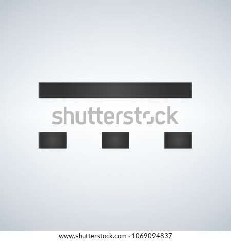 Direct Current Symbol Which Can Be Stock-Vektorgrafik (Lizenzfrei ...