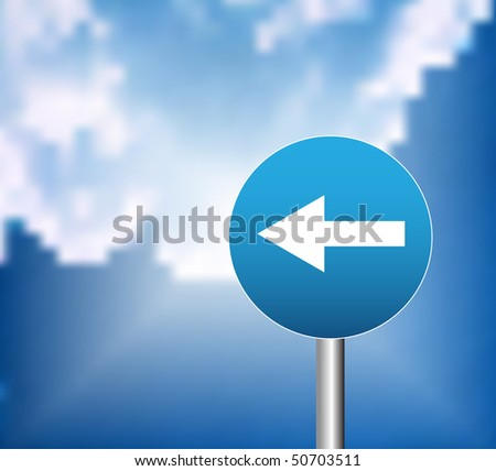 Direction - stock vector