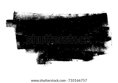 Dirtty Isolated Basis Artistic Messy Banner Stock Vector 710166757