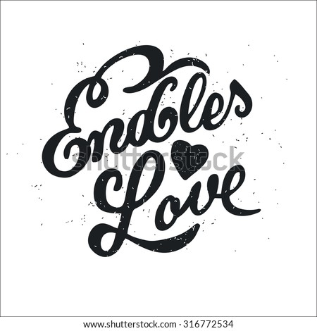 Dirty Love Quotes Mesmerizing Dirty Cartoon Romantic Poster Endless Love Stock Vector 316772534