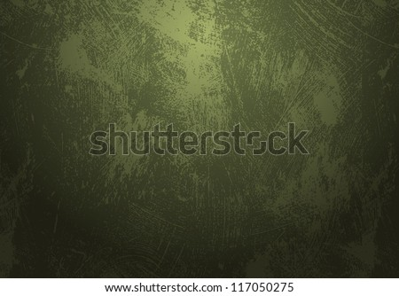 dirty green grunge background - stock vector