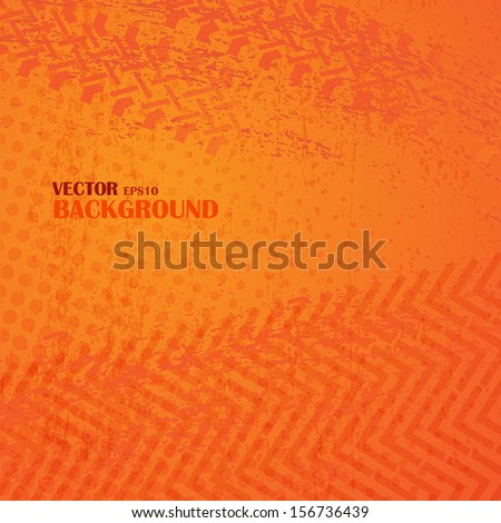 Dirty grunge vector background - stock vector