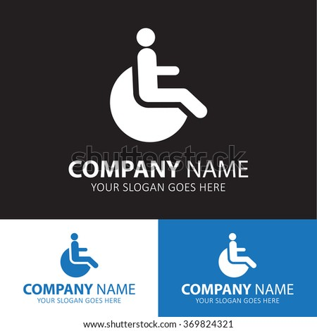 Disabled icon for web and mobile. - stock vector