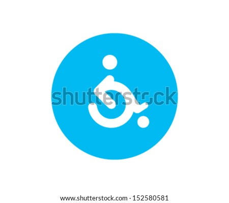 Disabled sign - stock vector