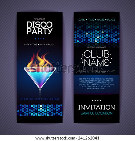 Cocktail Party Invitation Images RoyaltyFree Images – Cocktail Party Invite Template