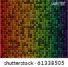 disco light dots - stock vector
