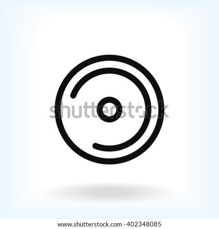Disk DVD Icon, disk DVD icon flat, disk DVD icon picture, disk DVD icon vector, disk DVD icon EPS10, disk DVD icon graphic, disk DVD icon object, disk DVD icon JPEG, disk DVD icon picture - stock vector