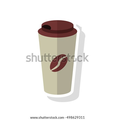 Disposable coffee cup design