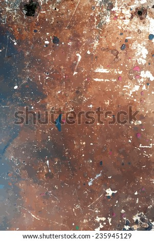 Distress Colored Texture for your design. EPS10 vector. - stock vector