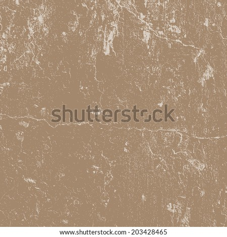 Distressed Cracked Plaster Texture for your design. EPS10 vector. - stock vector