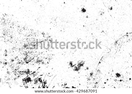 Distressed Overlay Background. Grunge Grainy Background. Empty Design Element. EPS10 vector. - stock vector