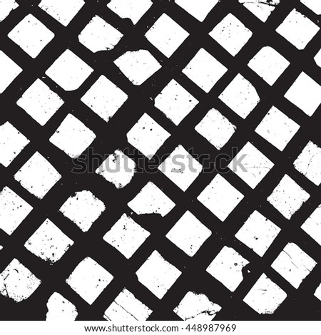 Distressed Overlay Texture - stock vector