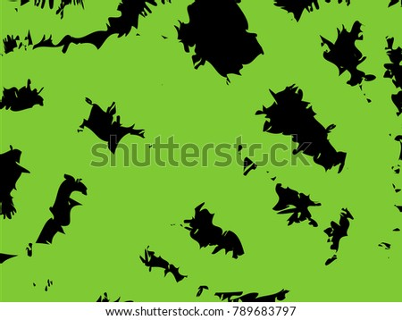 Distressed rough green splatter on black stock vector hd royalty distressed rough green splatter on a black background thecheapjerseys Images