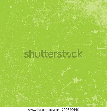 Distressed Texture of green color, for your design. EPS10 vector. - stock vector
