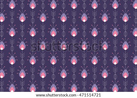diwali / deepavali motif background vector/illustration