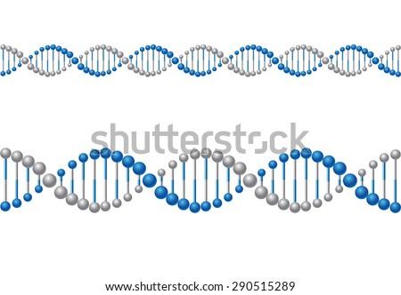 DNA - stock vector