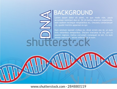 dna background, Illustration Vector eps10