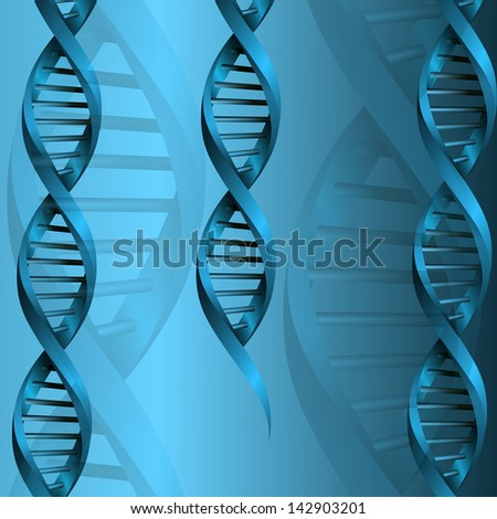 DNA molecule structure background. eps10 vector illustration