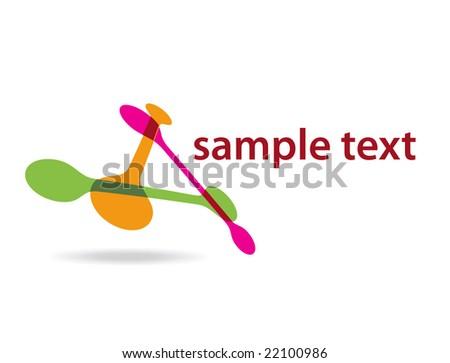 dna sample test background - stock vector