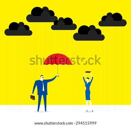 Do a favor - stock vector