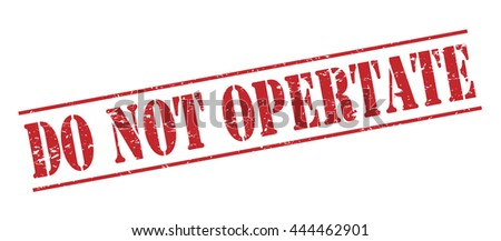 do not opertate vector stamp on white background