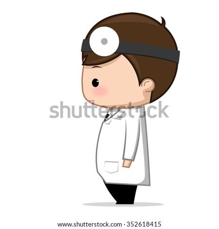 Doctor cartoon  - stock vector