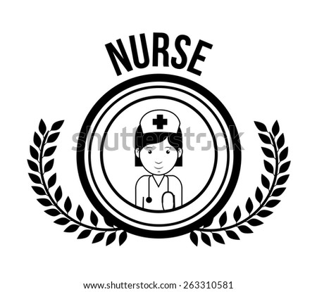 Doctor  design over white background, vector illustration - stock vector