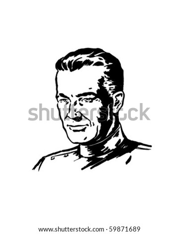 Doctor - Retro Clip Art