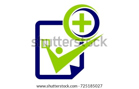 Document Health Solutions Stock Vector Hd Royalty Free 725185027