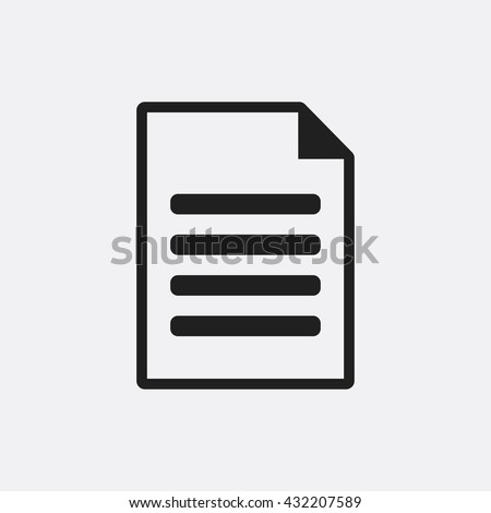 Document Icon, Document Icon Eps10, Document Icon Vector, Document Icon Eps, Document Icon Jpg, Document Icon, Document Icon Flat, Document Icon App, Document Icon Web, Document Icon Art, Document - stock vector