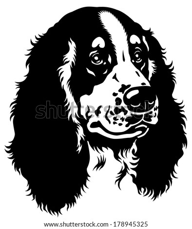 stock-vector-dog-head-english-cocker-spaniel-breed-black-and-white-image-178945325.jpg