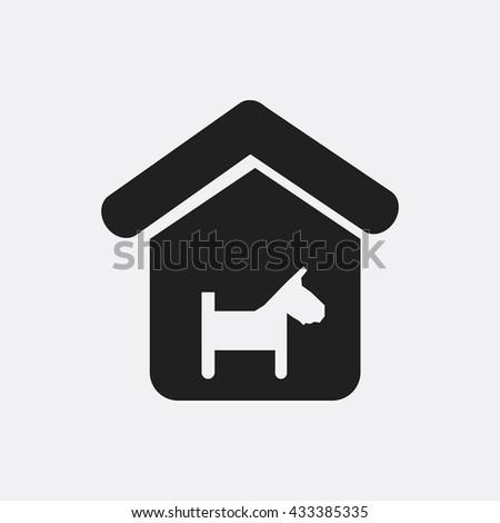 Dog house Icon, Dog house Icon Eps10, Dog house Icon Vector, Dog house Icon Eps, Dog house Icon Jpg, Dog house Icon, Dog house Icon Flat, Dog house Icon App, Dog house Icon Web, Dog house Icon Art - stock vector