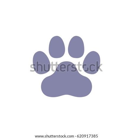Heart paw print set logo template stock vector 620915378 dog paw print logo template pronofoot35fo Choice Image