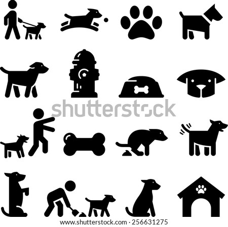 Dogs and puppy clip art