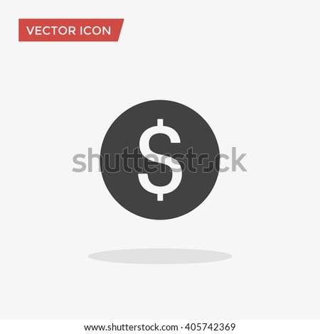 Dollar, Dollar Icon Vector, Dollar Icon Flat, Dollar Icon Sign, Dollar Icon App, Dollar Icon UI, Dollar Icon Art, Dollar Icon Logo, Dollar Icon Web, Dollar Icon Grey, Dollar Icon JPG, Dollar Icon EPS - stock vector