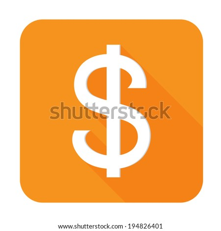 Dollars sign icon - Vector
