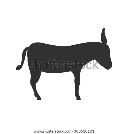 Donkey icon. Donkey icon vector. Donkey icon simple. Donkey icon app. Donkey icon web. Donkey icon logo. Donkey icon sign. Donkey icon UI. Donkey icon flat. Donkey icon eps. Donkey icon art. - stock vector