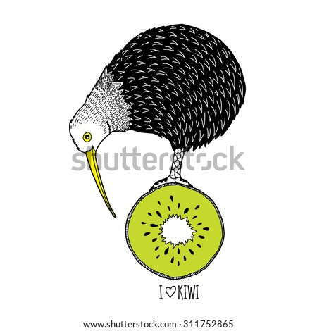Kiwi Bird Stock Images, Royalty-Free Images & Vectors | Shutterstock
