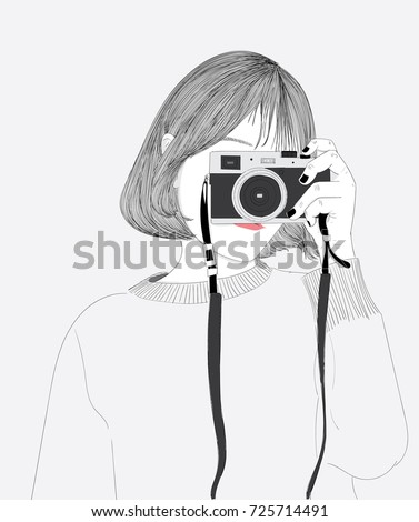 Camera Doodle Stock Images, Royalty-Free Images & Vectors ...  Camera Doodle S...