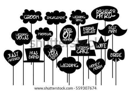 Doodle Comic Speech Bubble Cloud Black Stock Vector ...