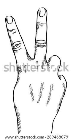 Doodle Hand sketched up, Vector Illustration EPS 10. - stock vector