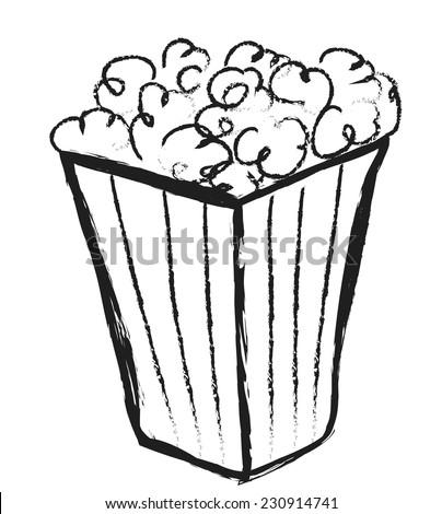 popcorn bag stock images royaltyfree images amp vectors