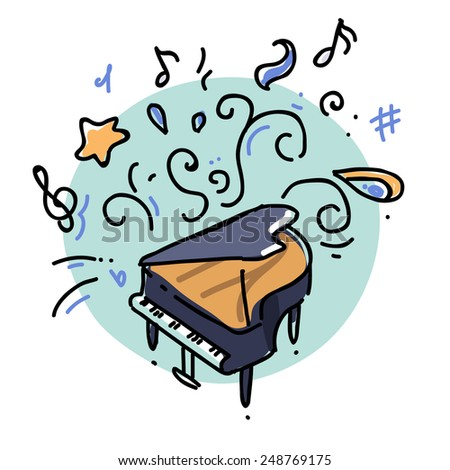 doodle piano