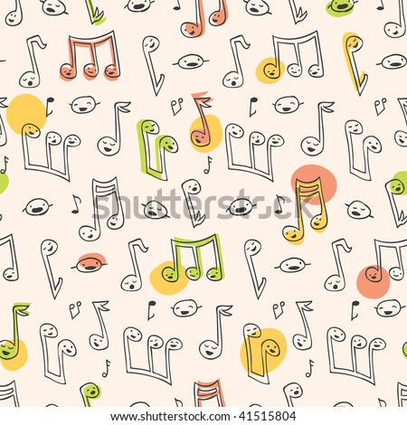 Doodle Song Pattern