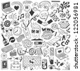 doodles collection - stock vector
