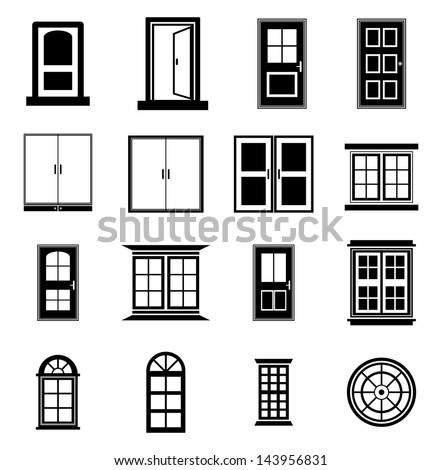 Window stock photos royalty free images vectors for Window design clipart