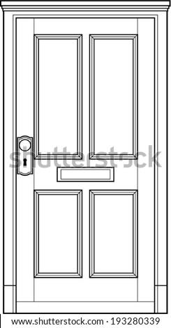door frame stock photos images pictures shutterstock. Black Bedroom Furniture Sets. Home Design Ideas