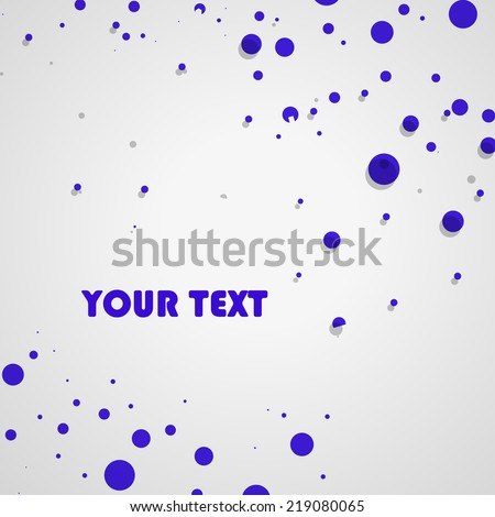 Dot Pattern, Abstract Background  eps10, vector elegant wave - stock vector