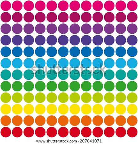 Colorful Dots Pattern Dots Pattern Rainbow Colors