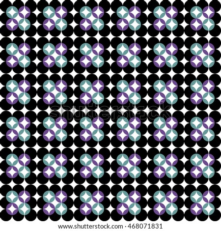 Dots pattern seamless